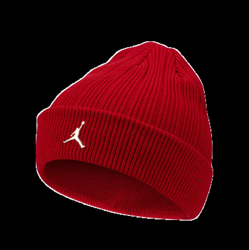 Air Jordan Air Jordan Cuffed Beanie Ingot Red CI3912 687