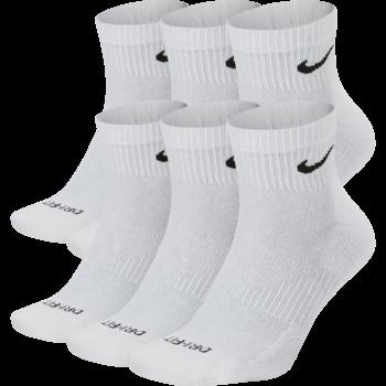 Nike Nike Everyday Plus Ankle Socks White (6 pair) SX6899 100