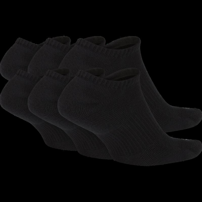 Nike Nike Everyday Plus No Show Socks Black (6 pair) SX6898 010