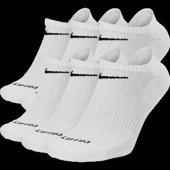 Nike Nike Everyday PlusNo Show Socks (6 pair) White SX6898 100