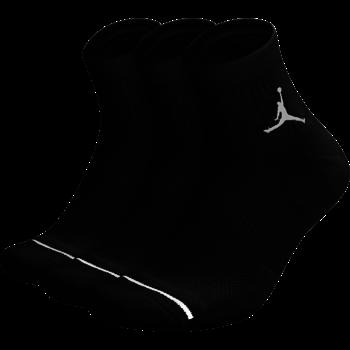 Air Jordan Air Jordan Dri-Fit Socks Ankle Black (3 Pair) SX5544 010