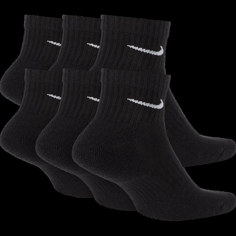 Nike Nike Ankle Socks SX7669-010  Black White Swoosh