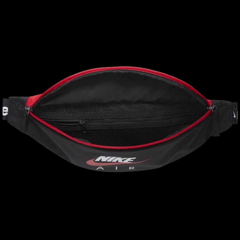 Nike Nike Heritage Hip Pack Black/Red/White CW9263 011
