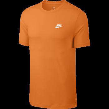 Nike Nike Men's Sportswear Club Shirt Orange AR4997 837