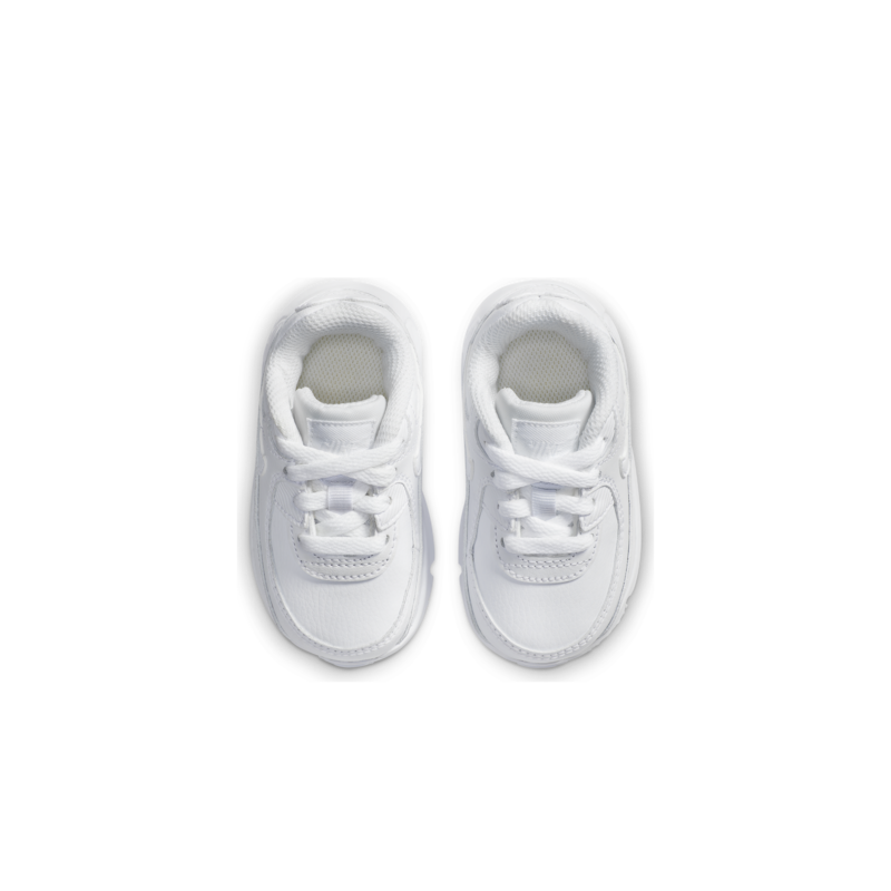 Nike Nike Toddler Air Max 90 LTR White/White CD6868 100