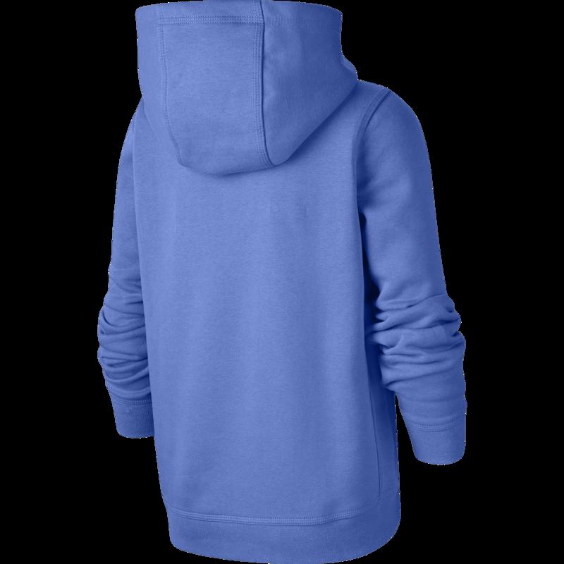 Nike Nike Kid's Fleece Pullover Hoodie Royal Pulse/White  BV3757 478
