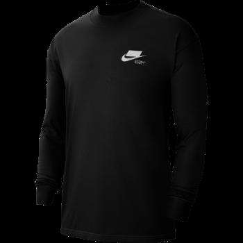 Nike Nike Men's NSW Longsleeve Tshirt Black CV0075 010