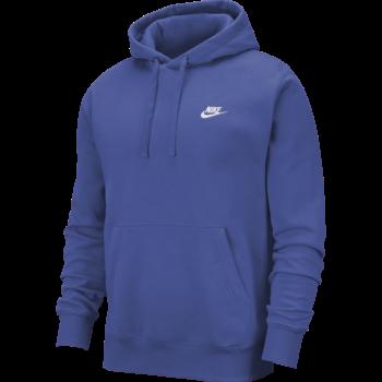 Nike Nike Men's Club Fleece Pullover Hoodie Royal BV2654 430