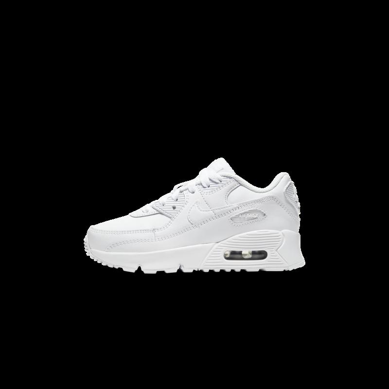Nike Nike Air Max 90 LTR Preschool White/White CD6867 100