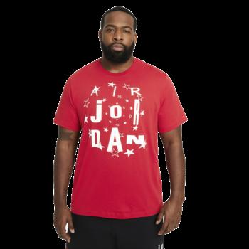 Air Jordan Air Jordan AJ6 Carmine Men's Star Tee Red/White CZ8385 687