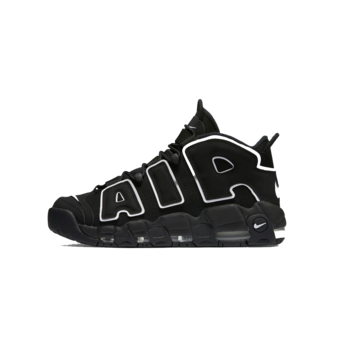 Nike Nike Air More Uptempo 'Black-White'  414962 002