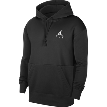 Air Jordan Air Jordan Men's Jumpman Air Fleece Pullover Black/White CK6684 010