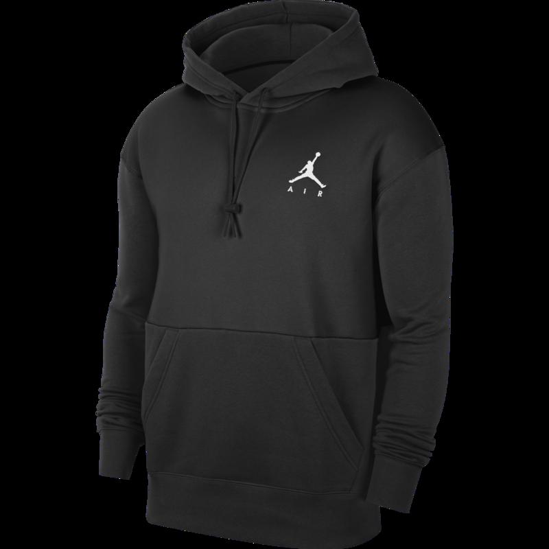 Air Jordan Air Jordan Men's Jumpman Air Fleece Pullover Black/White CK6684 010