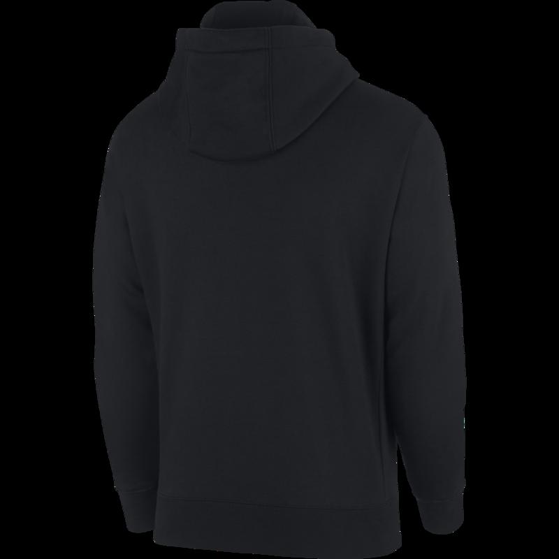 Nike Nike Sportswear Club Fleece Men's Full-Zip Hoodie 'Black/White' BV2645 010