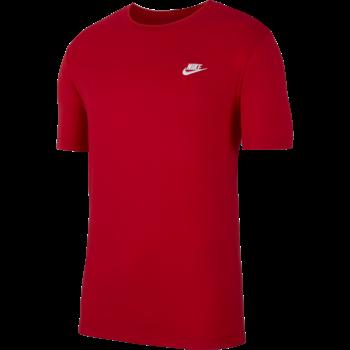 Nike Nike Sportswear Club Shirt RED/WHITE AR4997 657