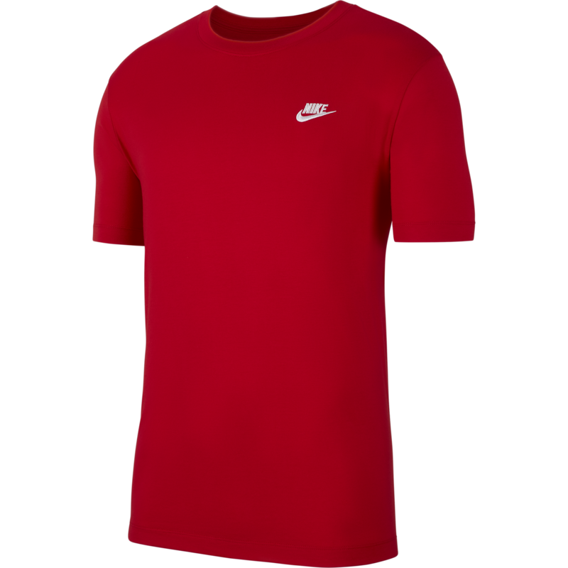 Nike Nike Sportswear Club Shirt RED/WHITE AR4997 657