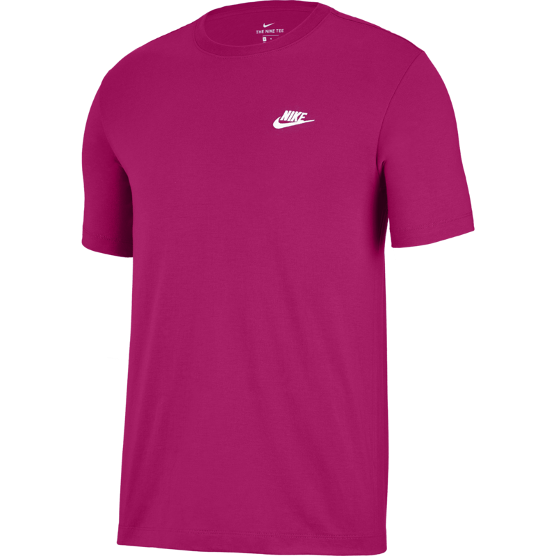 Nike Nike Sportswear Club Shirt FIREBERRY/WHITE AR4997 615