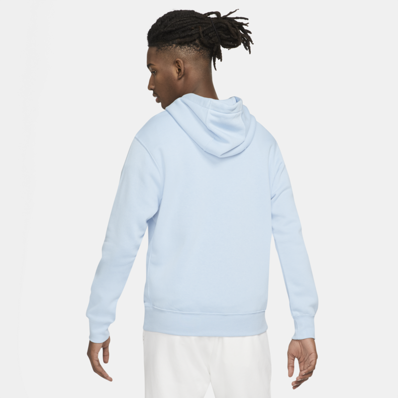 Nike Nike Men's Sportswear Club Fleece Pullover Hoodie 'Psychic Blue/White' BV2654 436