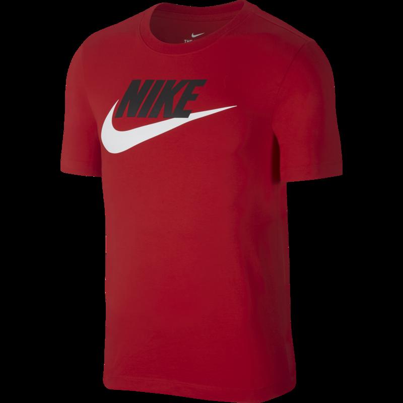 Nike Nike Men's Sportswear Icon Futura Tshirt 'Red' AR5004 657