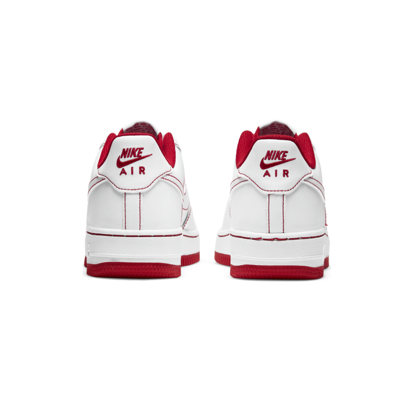 Nike Nike Air Force 1 (GS) 'White/Red' CW1575 100