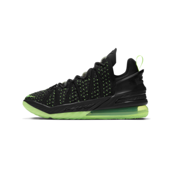 Nike Nike Lebron XVIII 'Dunkman' Electric Green/Black CQ9283 005