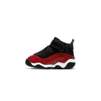 Air Jordan Air Jordan 6 Rings (TD) 'Black/White/Gym Red' 323420 060