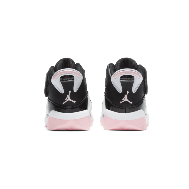 Air Jordan Air Jordan 6 Rings (TD) 'Black/Arctic Punch' 942780 002