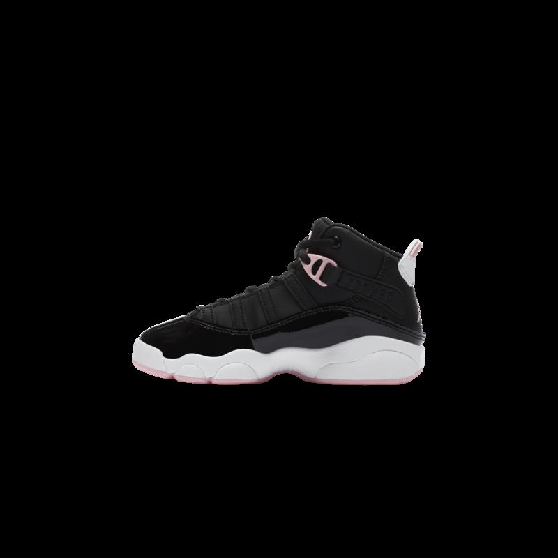 Air Jordan Air Jordan 6 Rings (PS) 'Black/Arctic Punch' 323431 002