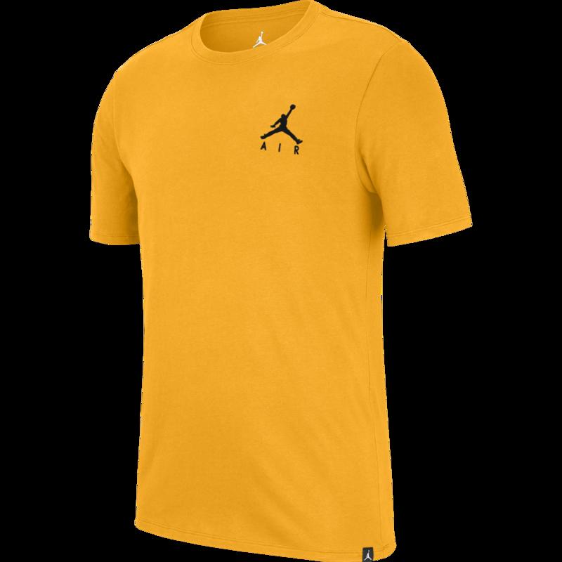 Air Jordan Air Jordan Jumpman Air Embroidered T-shirt 'University Gold' AH5296 739