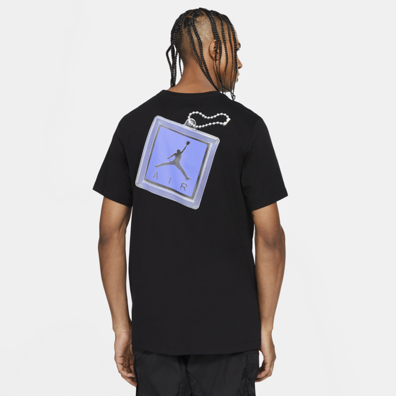 "Air Jordan Air Jordan Men's ""Keychain"" T-shirt 'Black' CV5157 011"