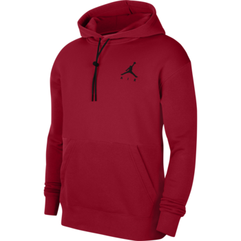Air Jordan Air Jordan Men's Jumpman Air Fleece Pullover Red/Black CK6684 687