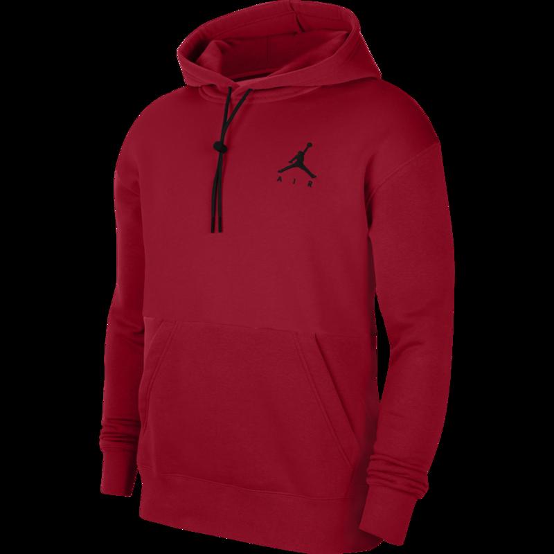 Air Jordan Air Jordan Men's Jumpman Air Fleece Pullover Red/Black CK6684 687