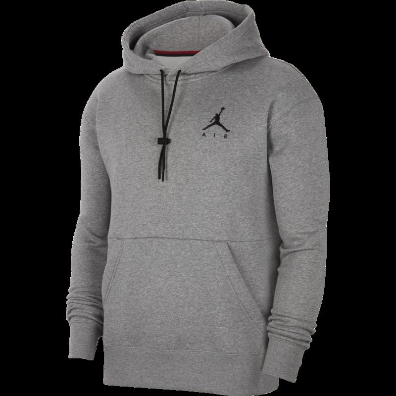 Air Jordan Air Jordan Men's Jumpman Air Fleece Pullover Grey/Black CK6684 091