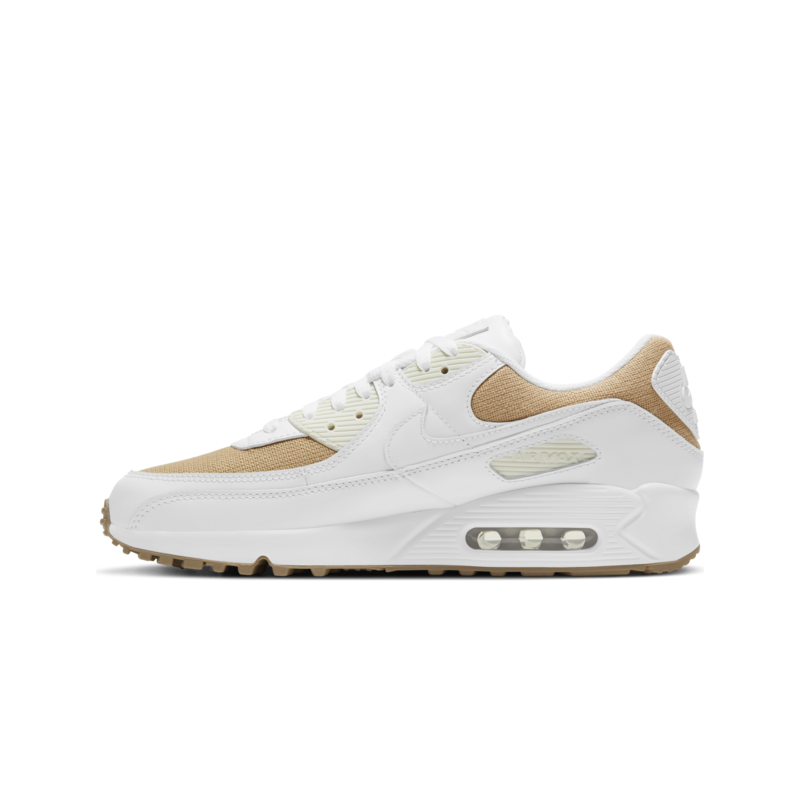 Nike Nike Men's Air Max 90 Summit White/Beige DD9678 100