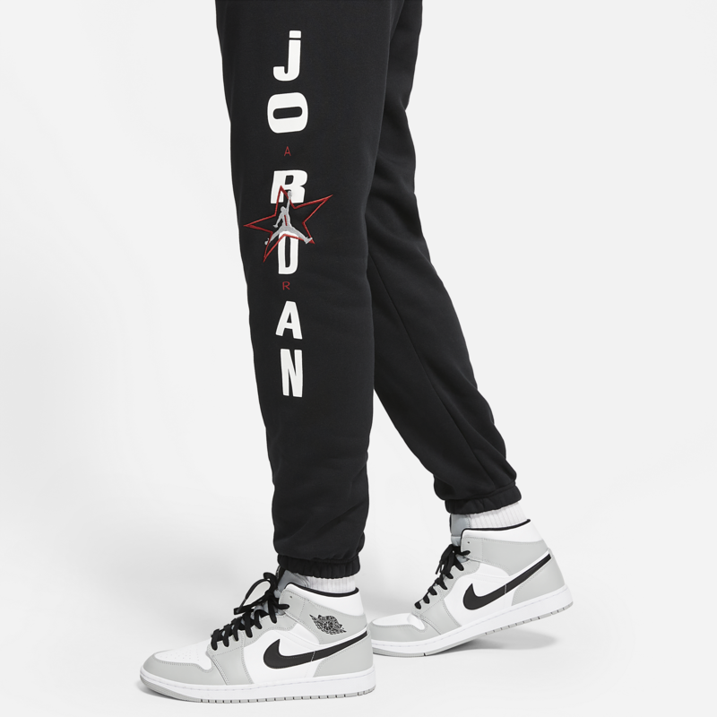 Air Jordan Air Jordan Men's Legacy AJ6 Carmine Graphic Fleece Jogger Pants DD5223 010