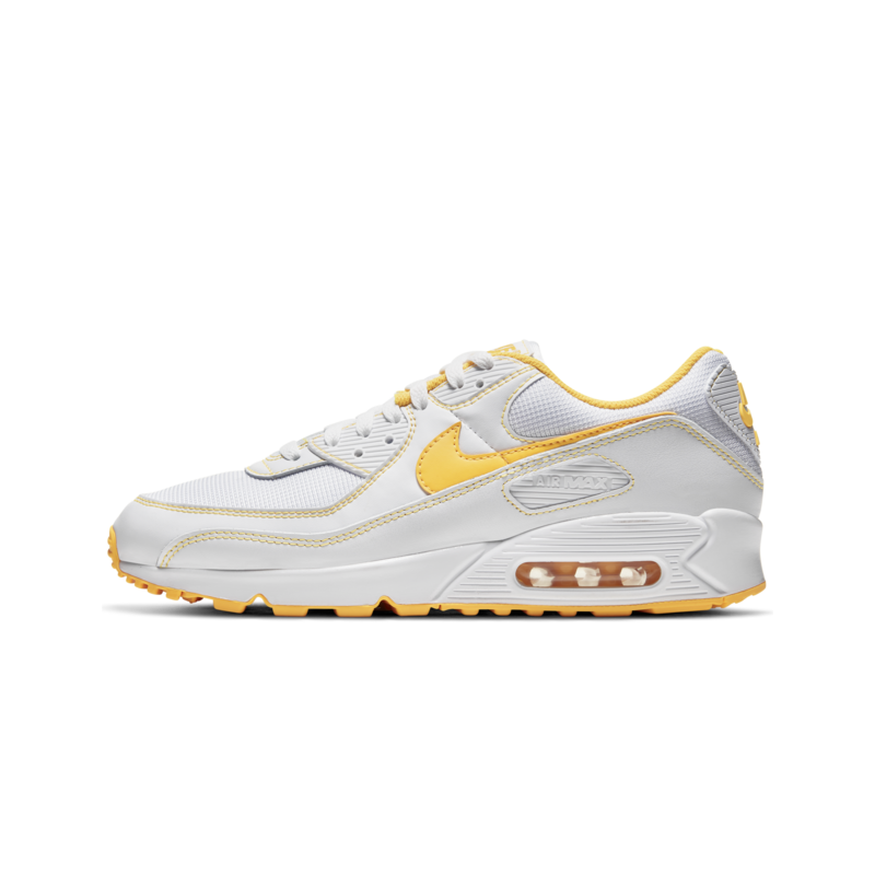 Nike Nike Men's Air Max 90 White/Laser Orange DH0276 100