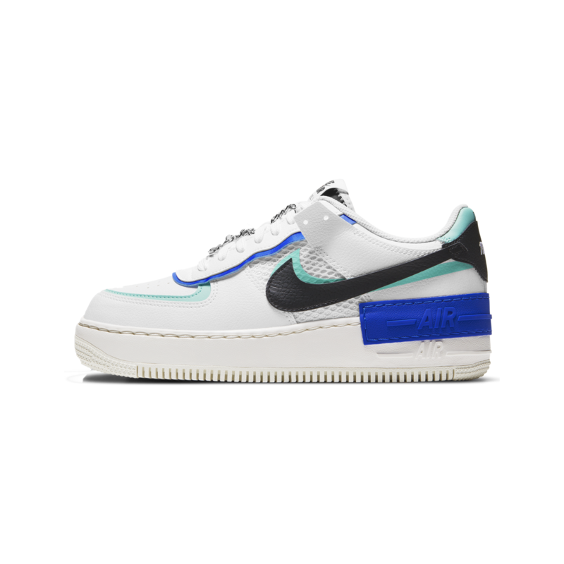 Nike Nike Women's AF1 Shadow White/Black-Chile Red DH1965 100