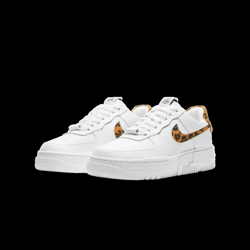 Nike Nike Women's AF1 Pixel SE White/Leopard CV8481 100