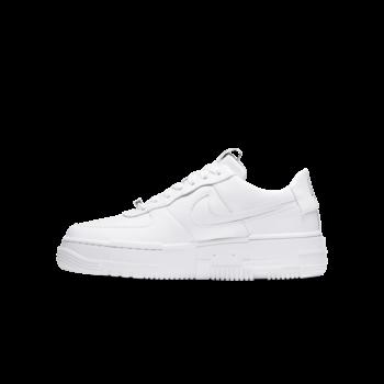 Air Jordan Nike Women's AF1 Pixel White/White/Black-Sail CK6649 100