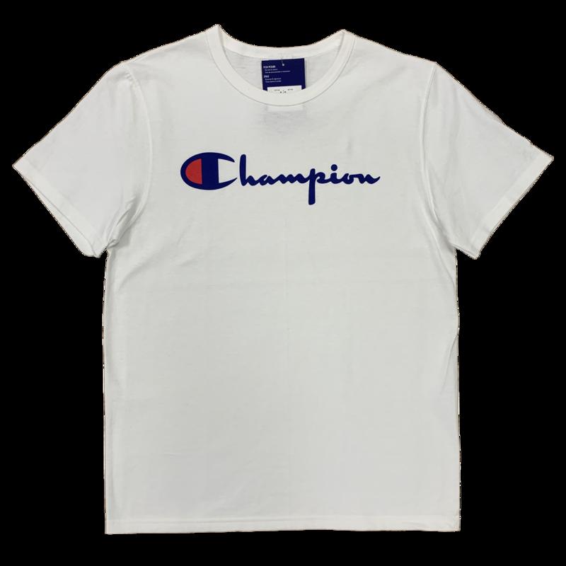 Champion Champion Classic Print Script Logo White GT19