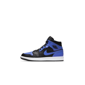 Air Jordan Air Jordan 1 Mid (PS) 'Black/Hyper Royal' 640734 077