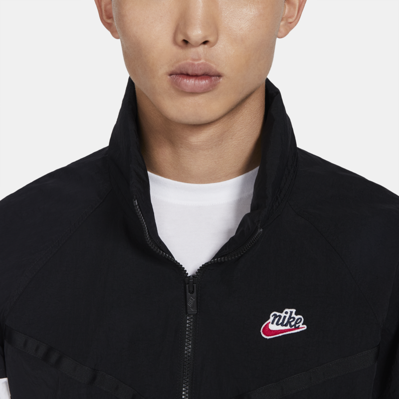 Nike Nike Men's Sportswear Heritage Windrunner Jacket 'Black/White' DA2492-010