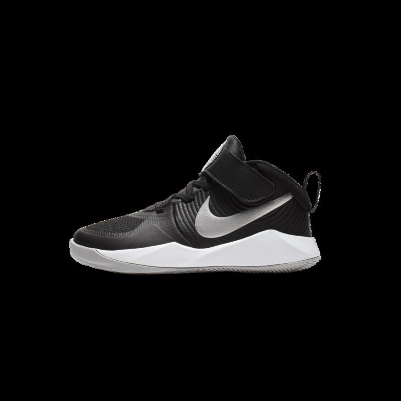 Nike Nike Team Hustle D9 PS 'Black/Metallic Silver' AQ4225 001