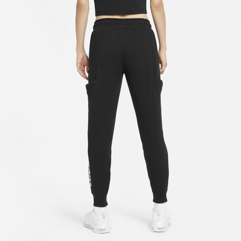 Nike Women's Nike Air Fleece Pants 'Black/White' CZ8626 010
