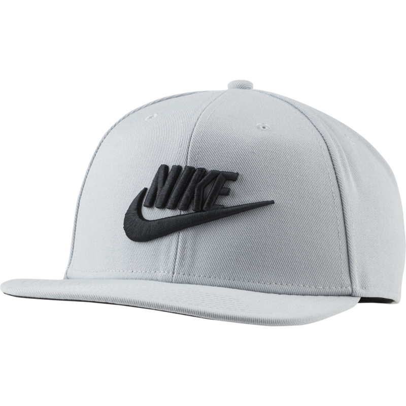 Nike Nike Sportswear Dri-Fit Pro Futura Cap 'Light Smoke Grey/Black'  891284 077