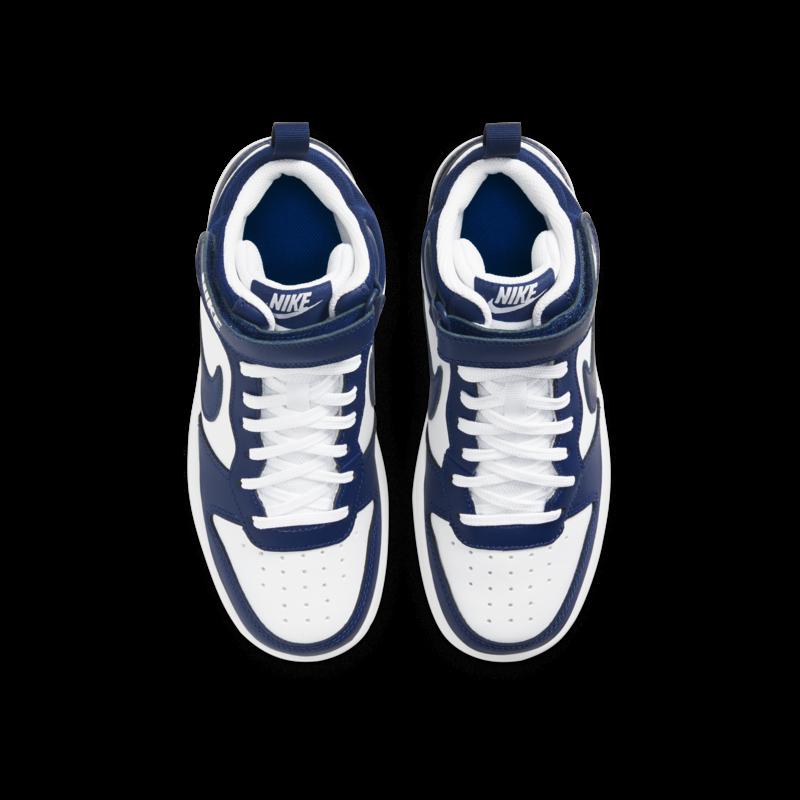 Nike Nike Court Borough Mid PS 'White/Blue Void'  CD7783 107