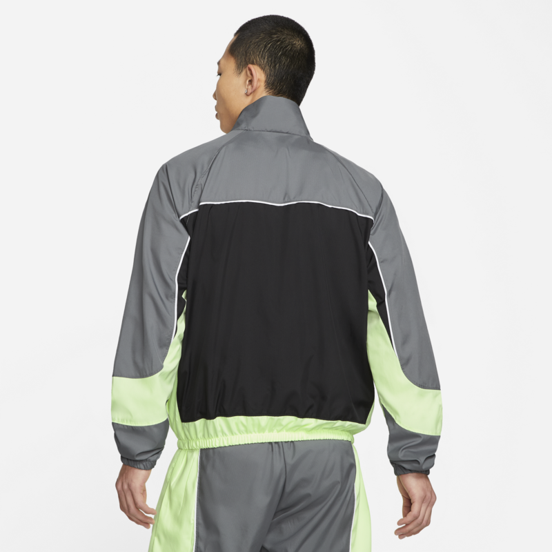 Nike Nike Men's Throwback Track Jacket Green/Grey CV1931 084
