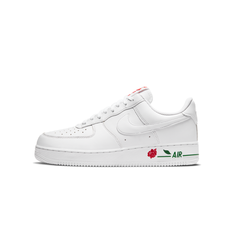 Nike Air Force 1 '07 LUX 'Low Rose' White/Red CU6312 100