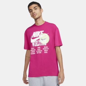 Nike Nike Men's World Tour Tee Pink/White DA0937 615