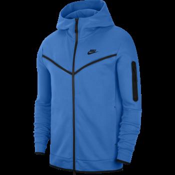 Nike Nike Men's Sportswear Tech Fleece Hoodie Blue CU4489 435